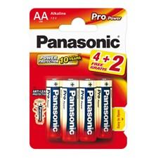 Baterie AA (R6) alkalická PANASONIC Pro Power LR6 6BP