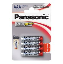 Baterie AAA(LR03) alkalická PANASONIC Everyday Power 4BP