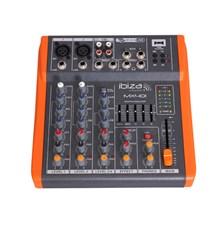 Mixážní pult IBIZA MX401 čtyřkanálový