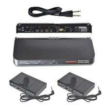 Mikrofon bezdrátový WR202R+2xWT203P