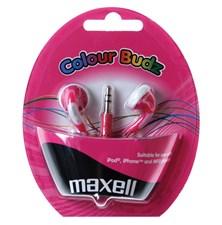 Sluchátka Maxell 303358 Colour Budz Pink