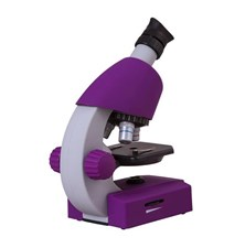 Mikroskop BRESSER JUNIOR 40x-640x fialová