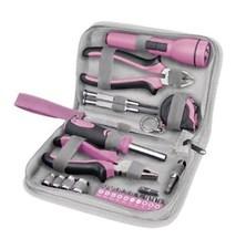 Sada nářadí 23ks, růžová barva - Extol Craft