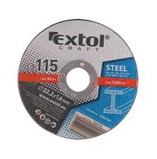 Kotouče řezné na kov, 5ks 125x1,6x22,2mm EXTOL CRAFT 106920