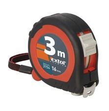 Metr svinovací 3m, šířka pásku 19mm EXTOL PREMIUM