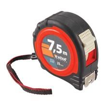 Metr svinovací 7,5m, š. pásku 25mm, EXTOL PREMIUM