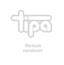 Digitální nástěnné DCF hodiny s teploměrem, KW 9092, 204 x 32 mm