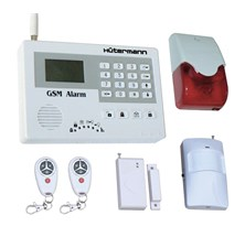 Alarm domovní bezdrátový GSM HG-114-CZ sada