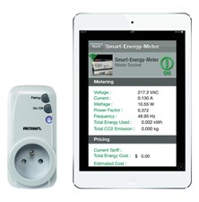Měřič spotřeby a spínací zásuvka pro iOS a Android Voltcraft SEM-3600BT