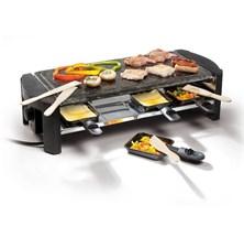Gril DOMO z přírodního kamene Raclette DO 9039 G pro 8 lidí