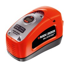 Kompresor BLACK & DECKER 12V/230V 11bar, 115L/min ASI300-QS