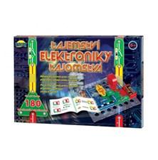 Stavebnice elektronická DROMADER TAJEMSTVÍ ELEKTRONIKY 180 EXPERIMENTŮ dětská