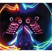 Tkaničky svítící LED růžové BASICXL BXL-SL10