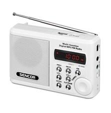 Radiopřijímač SENCOR SRD 215W USB/MP3