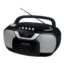 Radiomagnetofon s CD SENCOR SPT 207