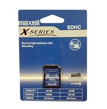 Paměťová karta SDHC 16GB MAXELL CL10
