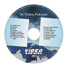 Karaoke DVD TĚŽKEJ POKONDR