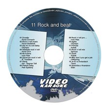 Karaoke DVD ROCK AND BEAT