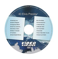 Karaoke DVD ELVIS PRESLEY