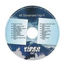 Karaoke DVD SLOVENSKÉ HITY II