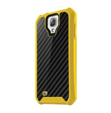 Itskins Atom Sheen Carbon Yellow pro Samsung i9505 Galaxy S4