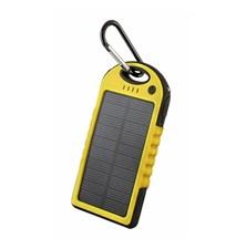PowerBank 5000 mAh solární FOREVER PB-016 žlutá
