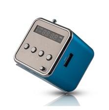 Rádio přenosné FOREVER MF-100 modrá