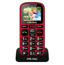 Telefon CPA HALO 16 červený