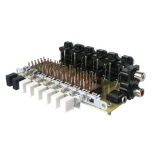 Stavebnice TIPA PT049 Přepínač audiovstupů s izostaty - RETRO EDICE