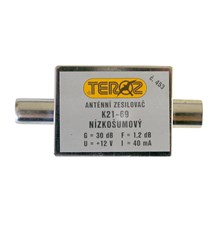 Anténní zesilovač UHF 30dB IEC Teroz